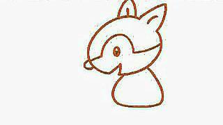 簡筆畫教程 第17集 松鼠