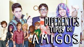 TIPOS DE AMIGOS | VLOG Thumbnail