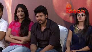 Pandigai Movie Press Meet Actor Krishna and Producer Vijayalakshmi and Directed Feroz Speech