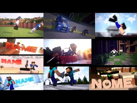 Top 10 Minecraft Free Intro Templates PVP Cinema 4D + After Effects