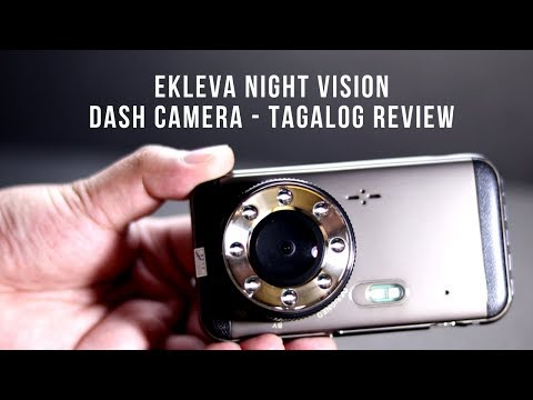 Ekleva Night Vision Dash Camera - Maliwanag Ba Kapag Gabi?