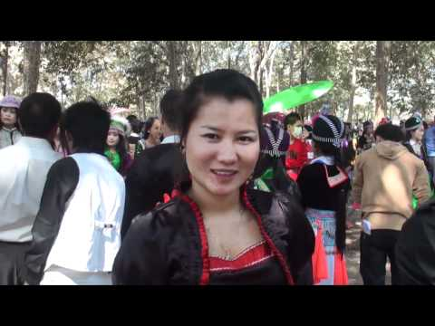 Hmong Laos, New Year 2011-2012   P1
