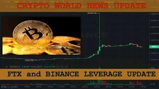 Crypto World News Update   FTX and Binance Leverages BIG Update - Crypto World Latest News in Hindi