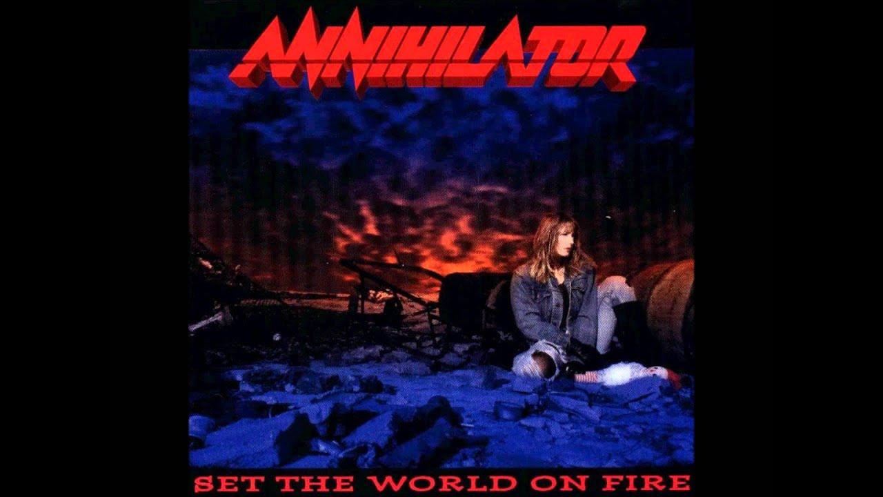 annihilator set the world on fire descargar