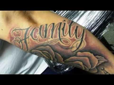Ideas Del Tatuaje De La Familia Para Los Hombres Youtube