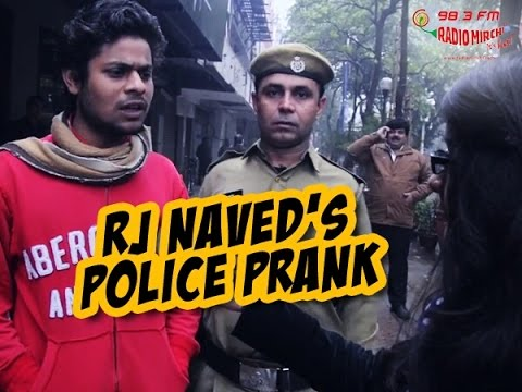 Mirchi Murga   Cop catches people abusing Police   RJ Naved as a Cop