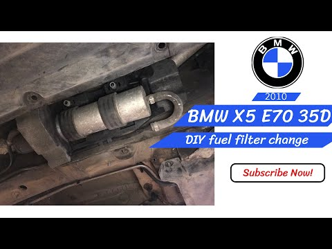 [DHAV_9290]  How to change fuel filter BMW X5 e70 35d 2010 - YouTube | 2001 Bmw X5 Fuel Filter |  | YouTube