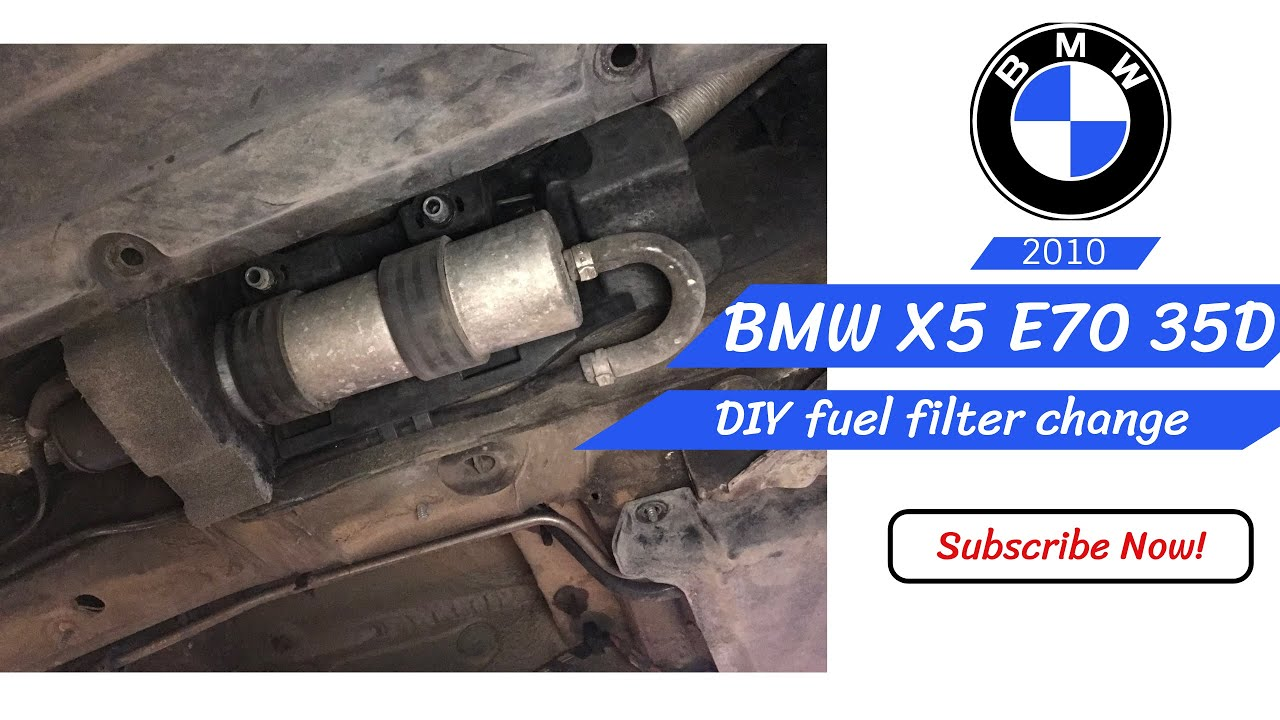 [CSDW_4250]   How to change fuel filter BMW X5 e70 35d 2010 - YouTube | 2001 Bmw X5 Fuel Filter |  | YouTube