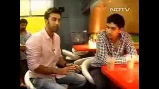 NDTV Thank God It's Friday -  Ranbir Kapoor at Between Breads!
