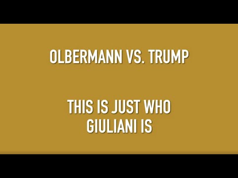 Olbermann vs. Trump #32: Giuliani's Gettysburg Wrong Address? Add It To His List Of Humiliation