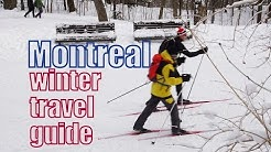 Things to do in Montreal Winter Travel Guide: One Day Itinerary