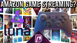 AMAZON DID WHAT!? Amazon Luna Cloud Gaming Streaming Service Announced