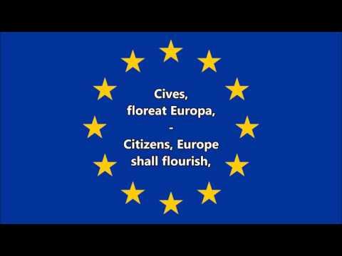 Anthem Of Europe (Latin/English)