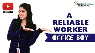 Job Roles For Office Boy –Secretaries,Administrative assistant,Entry level position
