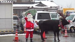2014/12/20三方保育園のおたのしみ会にサンタさんとトナカイがやってき...