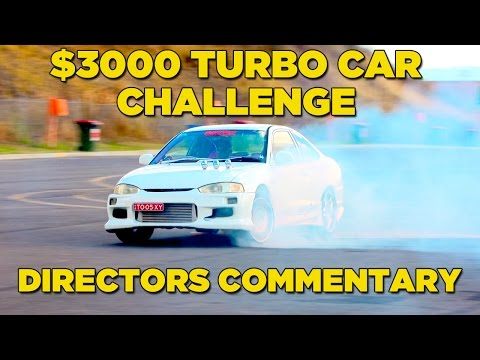 $3000 Turbo Car Challenge | DIRECTORS COMMENTARY
