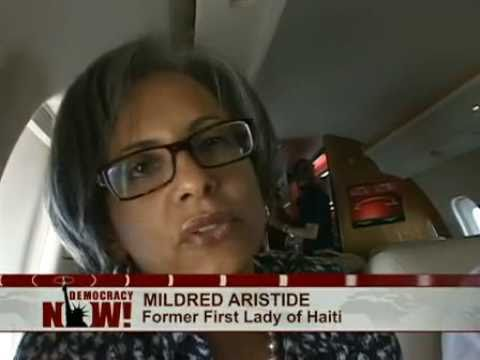 Former First Lady Mildred Aristide on Her Historic Return to Haiti: Democracy Now! Exclusive Report