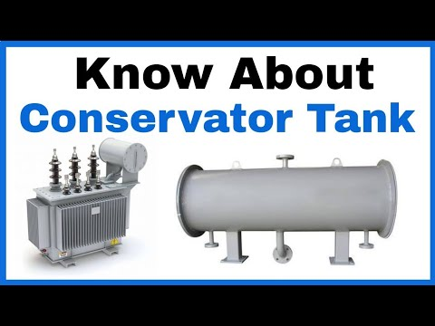 Know About Conservator Tank in Hindi, Transformer Conservator Tank in Hindi