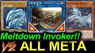 Meltdown Invoker VS. ALL META!! NEW LINK SMASH THE META!! (GOING 2ND EVERYTIME)