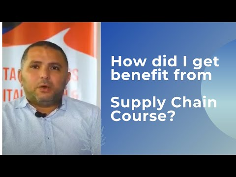 Mr. Sameh Rashad Jotun Factory Manager Feedback About Supply Chain Course