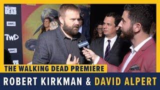 Robert Kirkman, Angela Kang and Scott Gimple - THE WALKING DEAD Season 10 Interview