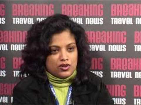 Prabashni Reddy, Marketing Director, Durban, South Africa @ WTM 2007