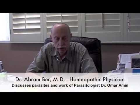 Dr Ber, M D  H) speaks about Parasites and Parasitologist Dr  Amin