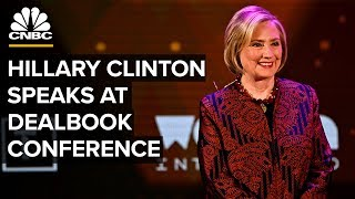 Hillary Clinton speaks at New York Times DealBook Conference – 11/6/2019