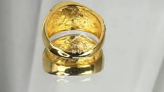 Jewelry NUVO 24K Tornado Cutting Ring 01