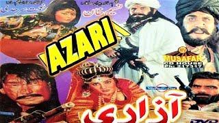 Gambar cover Pashto Classic Cinemascope Film - Azari - Nemat sarhadi , Nazo