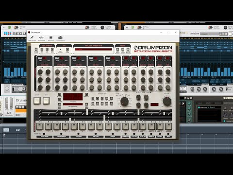 Drumazon drum Patterns to the main Seq. or Player devices like Sequences