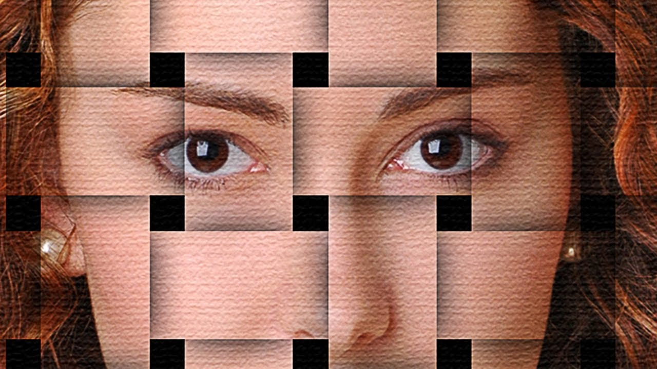 How To Make A Basket Weave Effect : Photo tutorial how to make a basket weave effect from