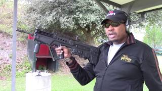 Before & After Shooting IWI Tavor Bullpup Rifle w/ Gear Head Works New FLEx swivel Install & Review
