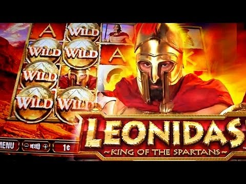 Leonidas King Of The Spartans Slot - Play Penny Slots Online
