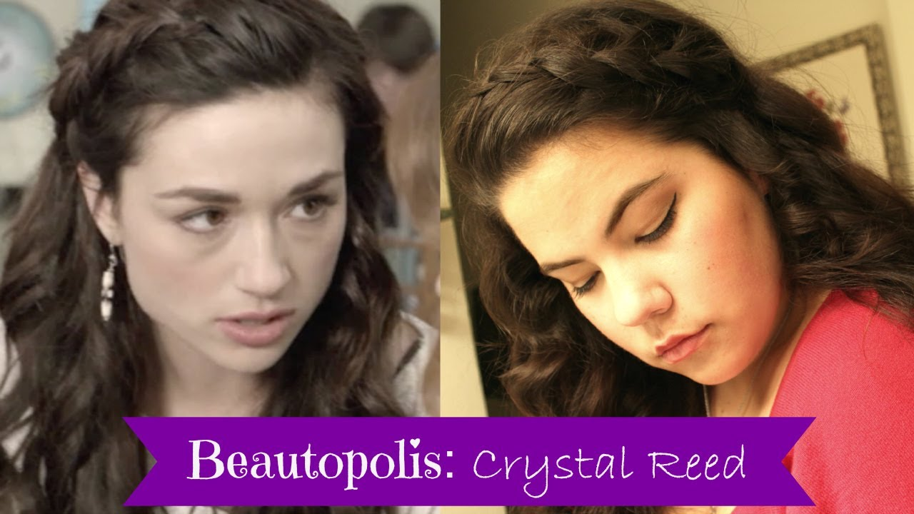 TUTORIAL: Crystal Reed\'s Teen Wolf braided hair look | Beautopolis ...