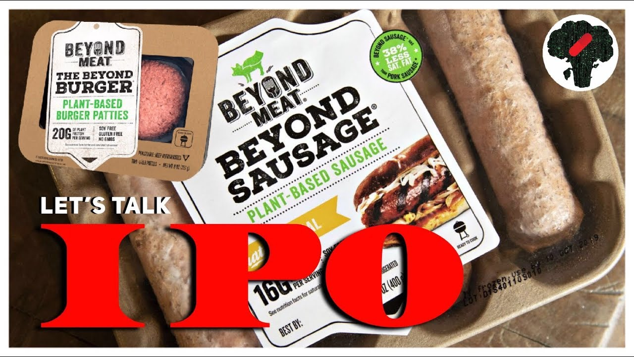 Beyond Meat IPO lets public take stake in plant-based proteins