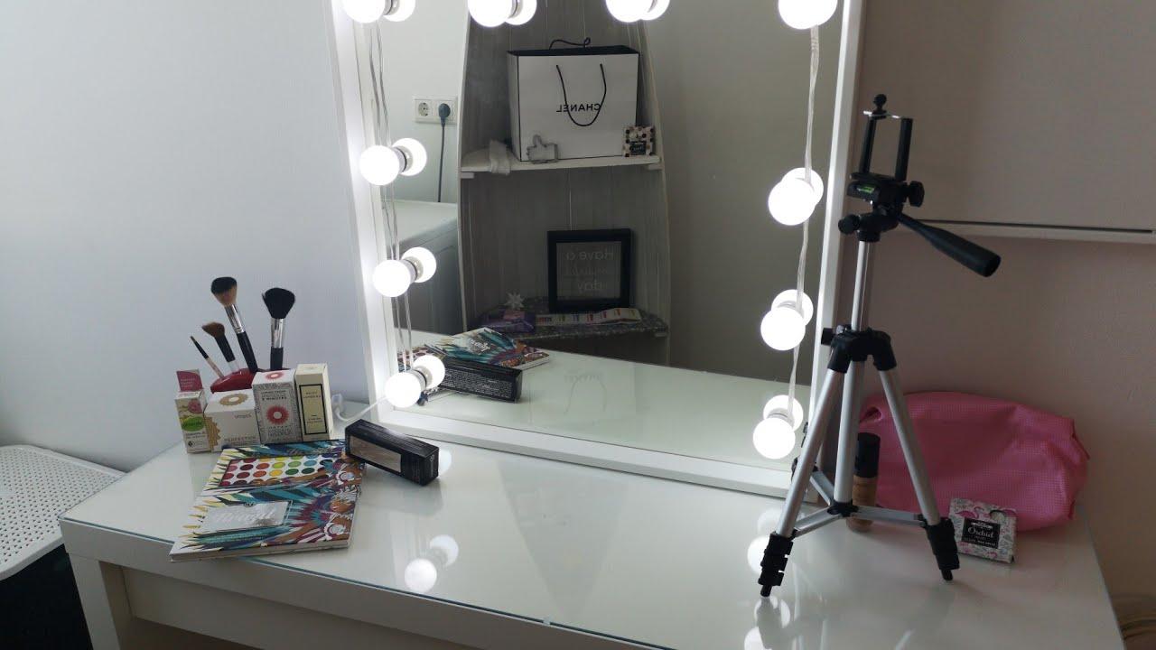 Hollywood Spiegel Selber Bauen Gunstig Schnell Und Einfach Ikea Amazon Mary Jano Youtube