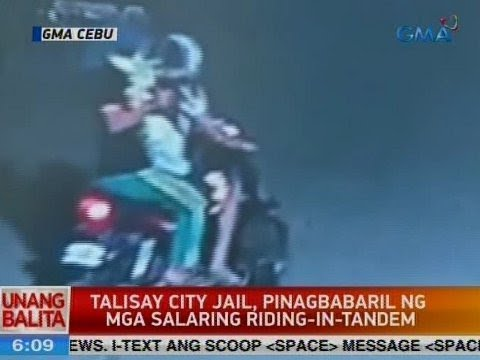 UB: Talisay City Jail, pinagbabaril ng mga salaring riding-in-tandem