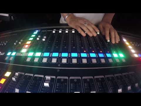 Mixing a musical with DiGiCo SD7T (time-lapse video)