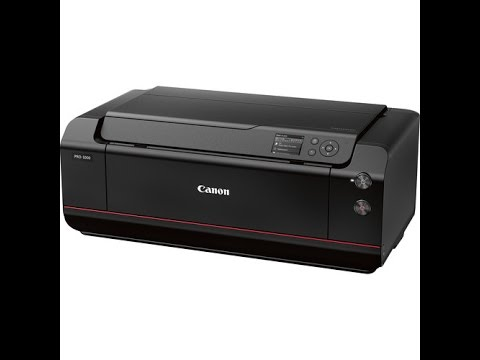 canon imageprograf pro 1000 fine printing technology full review youtube