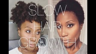 Top Tips For The SLOW GROWER | Grow Natural Hair Faster💆🏾