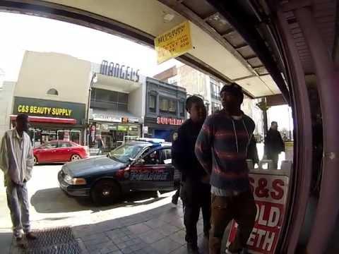 GRSE! Atlanta 18feb13 Vinegar bottle w/ Dandre Maxwell