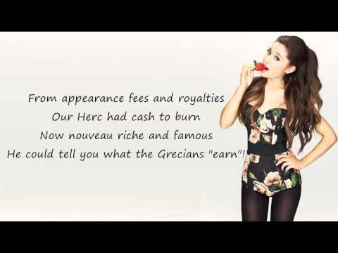 Ariana Grande - Zero To Hero   LYRICS