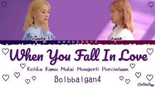 Bolbbalgan4 (볼빨간사춘기) - 사랑에 빠졌을 때 (When you Fall in Love) Lyrics/Lirik Terjemahan Indonesia [Rom_Eng]