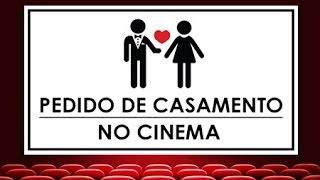 Pedido de Casamento no Cinema - Juan e Izabelle (Marriage Proposal in Movie Theater)