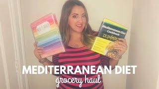 Mediterranean Diet - January Weekly Grocery Haul