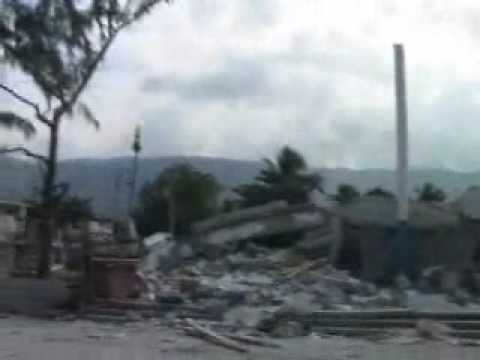 Haiti downtown Port Au Prince and Petionville post Earthquake Jan 17th 2010