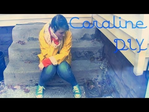 Coraline Diy Costume Youtube