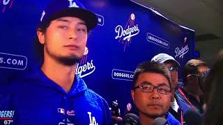 Yu Darvish responds to Yuli Gurriel racist gesture