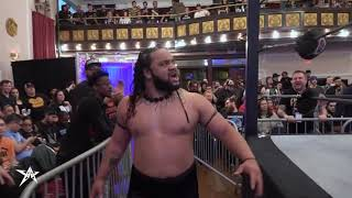 FATU Makes His AAW Debut And Destroys Everyone | AAW Pro Wrestling